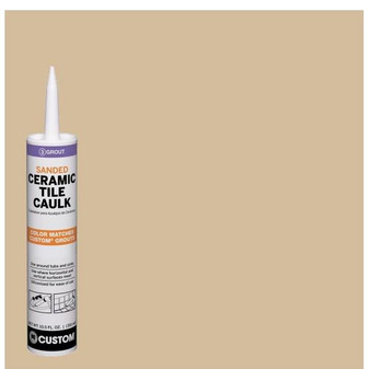 Polyblend #122 Linen 10.5 oz. Sanded Ceramic Tile Caulk