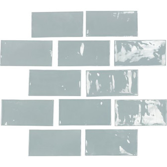 """Switch 2½"""" x 5″ Wall Tile – Blue Ceramic Wall Tiles"""