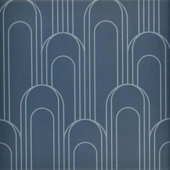 "Epic Porcelain Tile Collection Oval Navy Blue 8""x8"" $8.99 Sq. Ft."