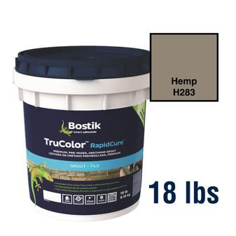 Bostik TruColor Grout 18 lbs Hemp H283