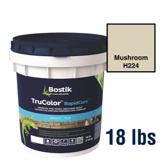 Bostik TruColor Grout 18 lbs Mushroom H224