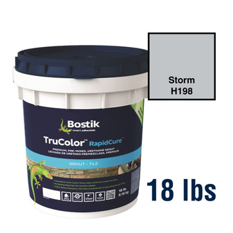 Bostik TruColor Grout 18 lbs Storm H198