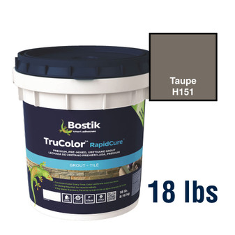 Bostik TruColor Grout 18 lbs Taupe H151