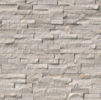 "Athens Gray Splitface Ledgerstone Panels 6""x24"""