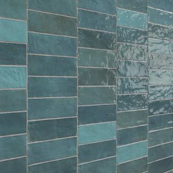 Trinity Aqua Gloss 2.6x7.9 Wall Tiles