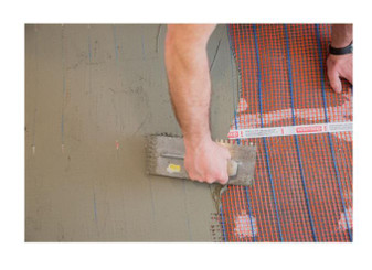 24 ft. x 20 in. 240-Volt Heated Floor Mat (Covers 40 sq. ft. Total)