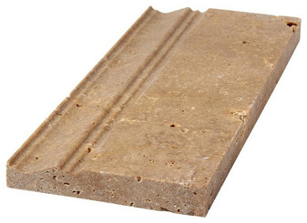 2.07	Noce Travertine Base Molding 4x12