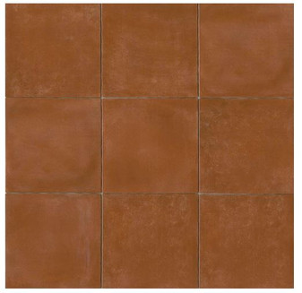 Cotto Europa: Terra Cotta Porcelain Tile 14x14 Gloss Finish Cotto Field Tile  Red
