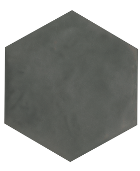 "Manzanita Taupe Gloss 7""x8"" Hexagon Ceramic Wall Tile"