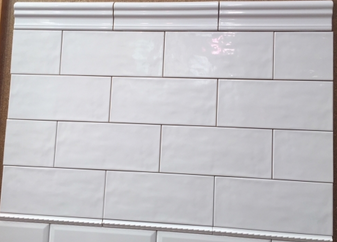 Manzanita White Gloss 4x10