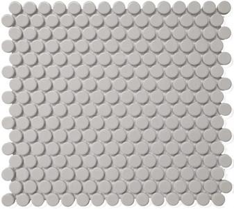 Alameda Gray Gloss Pennyround Mosaics
