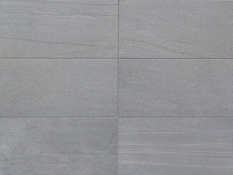 Arredo Porcelain Tile Collection: Grigio 2x2 Mosaic and Bullnose