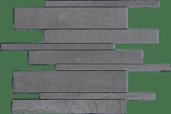 Burlington Dark Gray Strip Mosaic