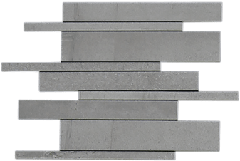 Burlington Light Grey Strip Mosaic
