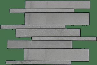 Burlington Light Grey Strip Mosaic