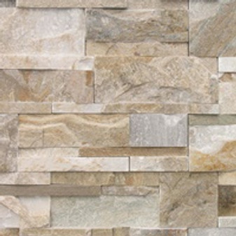 Keystone Desert Gold Ledgerstone Panels and Outside Corners Available