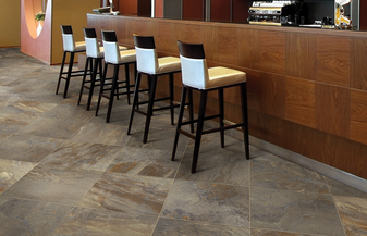 ESSENCE Porcelain Tile Collection: ESSENCE Bronze 13x13, 12x24, 18x18, 3x18 Bullnose Tile
