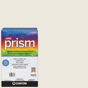 Prism #381 Bright White 17 lb. Grout