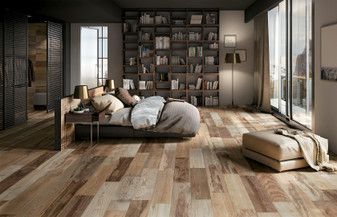 DRAKKER SOUTH 8X40 Wood Porcelain Tiles
