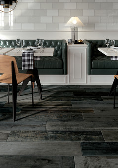 DRAKKER POLE 8X40 Wood Porcelain Tiles