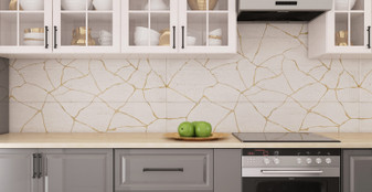 "Kasai Porcelain Tile Collection:CARTA KINTSU  9.8""x59"""