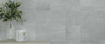 """DENIM 5.5""""x5.5"""" Gray Square Tile"""