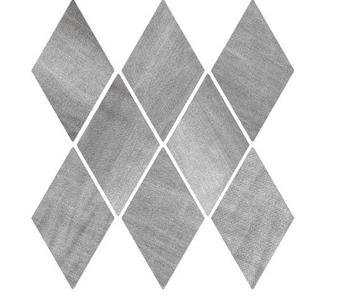 "DENIM 5,5""x9,5"" Gray Diamond Tiles (Different colour shades randomly mixed within the box)"