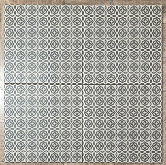 Stencil Collection Retro 8x8 Encaustic Tiles
