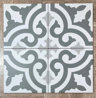 Stencil Collection Jazz 8x8 Encaustic Tiles