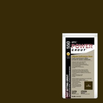 Tec Power Grout Dark Walnut 25lb Bag
