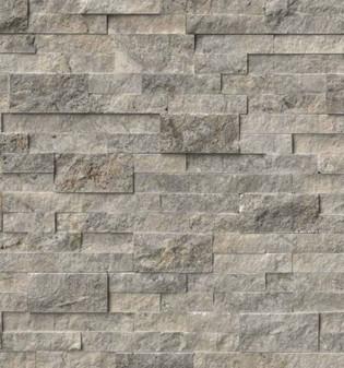 "Venato Gray Ledgerstone Panels 6""x24"""