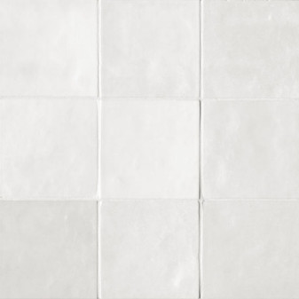 "Studio White Cloud Gloss 5""x5"" Wall Tiles"