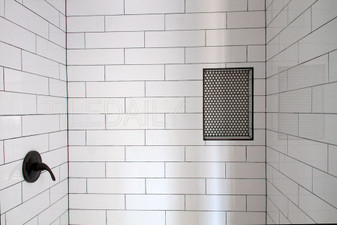 Color Collection Ice White Gloss 4x16 Ceramic Wall Tiles