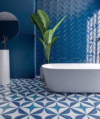 ​BLANC ET BLUE Tile Collection