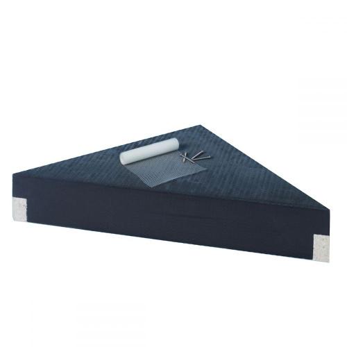 """Wedi Corner Suspended Seat Shower Bench - 17"""" x 17"""""""