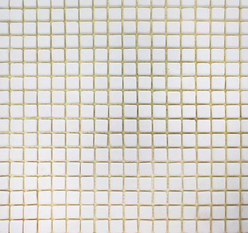 Thassos Tumbled 5/8x5/8 Mosaics