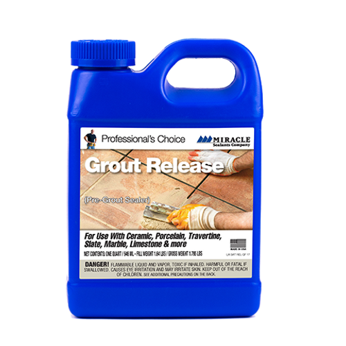 MIRACLE SEALANTS Grout Release