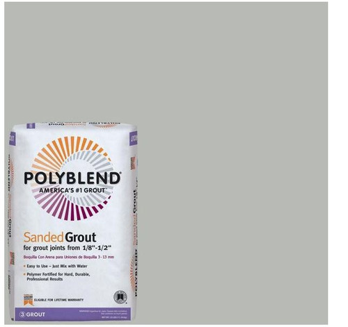 Polyblend #546 Cape Gray 25 lb. Sanded Grout