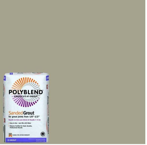 Polyblend #183 Chateau 25 lb. Sanded Grout