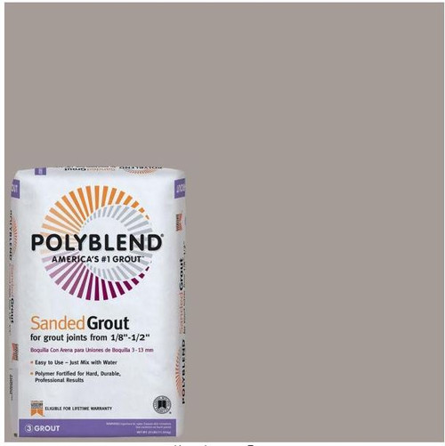 Polyblend #542 Graystone 25 lb. Sanded Grout