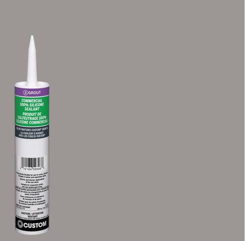 Commercial #165 Delorean Gray 10.1 oz. Silicone Caulk