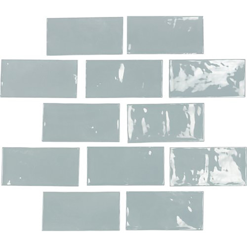 "Switch 2½"" x 5″ Wall Tile – Blue Ceramic Wall Tiles"