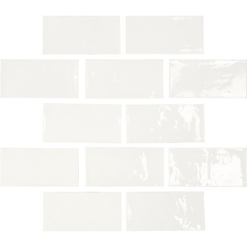 "Switch 2½"" x 5″ Wall Tile – White"
