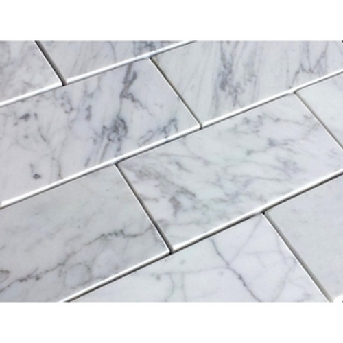 Carrara Honed 3x6 Subway Tiles