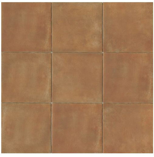 Cotto Europa: Terra Cotta Porcelain Tile 14x14 Matte Finish Cotto Field Tile Caramel