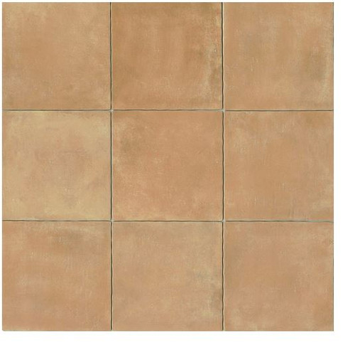 Cotto Europa:Terra Cotta 14x14 Gloss Finish Cotto Field Tile  Beige