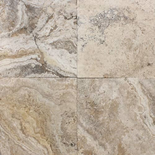 Byzantine Honed & Filled 24x24 Travertine Tiles (As Is Chipped Corners ) $5.99 Sq. Ft.