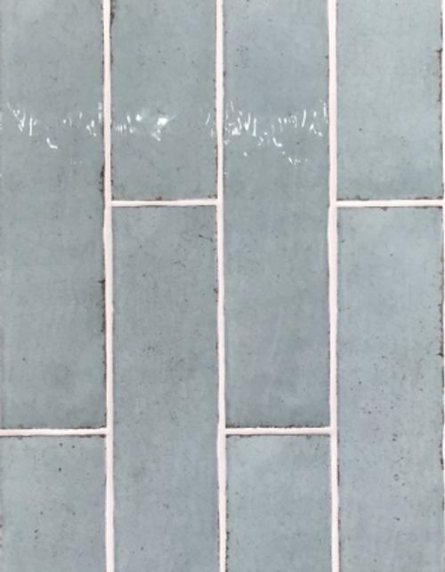 """Manzanita Aqua Crackle Gloss 3""""x12"""""""