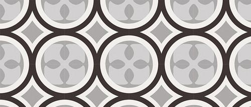PATCHWORK Black & White #1 8X8