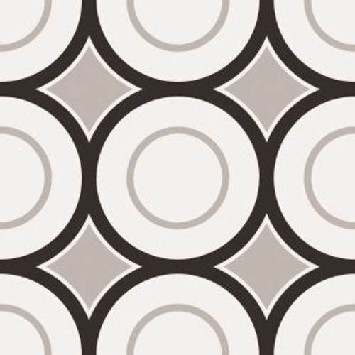 PATCHWORK BLACK & WHITE #5 8X8